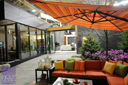 colourful outdoor living