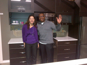 jackie morra on weather network at urban home