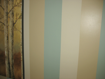 Living Room Stripes Paint Colours
